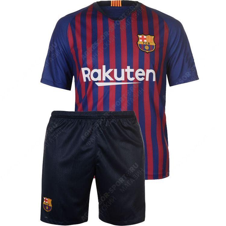 Футбольная форма Барселона ДЕТСКАЯ сезона 2018 2019 - купи на ... 97b5bc1a846