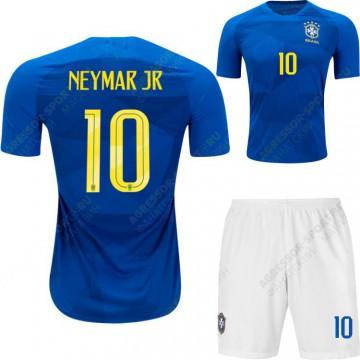 Форма Бразилии 2018 NEYMAR 10 синяя