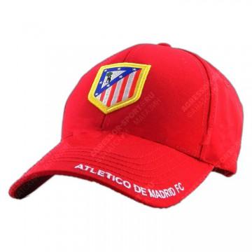 Бейсболка Атлетико Мадрид красная