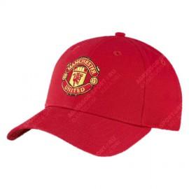 Бейсболка Манчестер Юнайтед красная