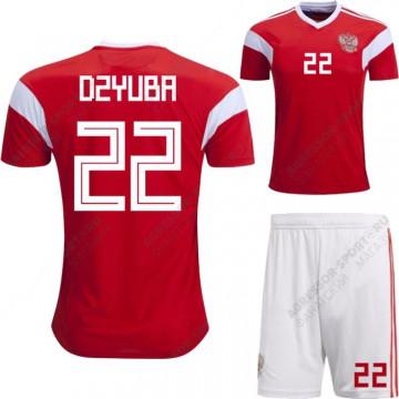 Россия футбольная форма 2018 DZYUBA 22