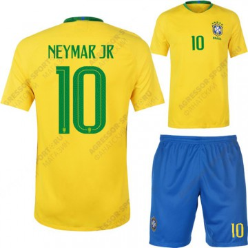 Форма Бразилии 2018 NEYMAR 10