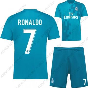 ДЕТСКАЯ форма Роналдо Реал Мадрид 2017/18 Резервная