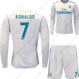 Форма Реал Мадрид 2017/18 RONALDO 7 дл.рукав