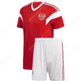Россия футбольная форма 2018