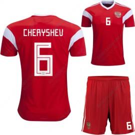 Россия футбольная форма 2018 CHERYSHEV 6