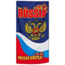 Полотенце Россия пляжное