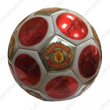 Мяч Манчестер Юнайтед красный
